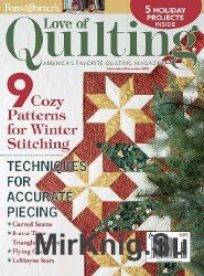 Love Of Quilting - November/December 2015