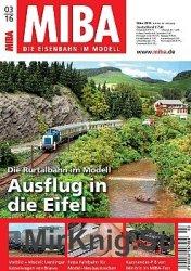 MIBA Die Eisenbahn im Modell №3 2016