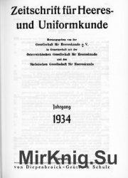 Zeitschrift fur Heeres- und Uniformkunde №61-96