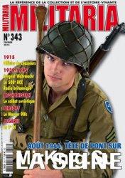 Armes Militaria Magazine №343 2014