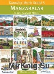 Manzaralar - Kanavice Motif Series 5: Landscapes
