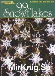 99 Snowflaces