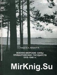 Военно-Морские силы Прибалтийских государств. 1918-1940