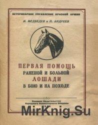 Первая помощь раненой и больной лошади в бою и на походе