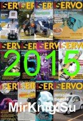 Servo Magazine №1-12 2015