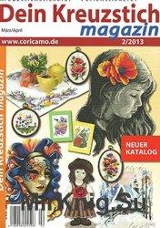 Dein Kreuzstich Magazin  № 2, 2013