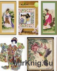 Cross Stitch Orient - Japan world