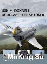 USN McDonnell Douglas F-4 Phantom II (Osprey Air Vanguard 22)