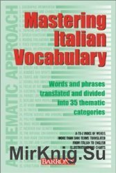 Mastering Italian Vocabulary: A Thematic Approach