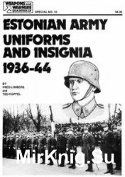 Estonian Army Uniforms and Insignia, 1936-44