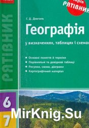 Географія у визначеннях, таблицях і схемах. 6-7 кл.