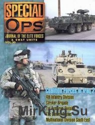 Special Ops Journal #30 Coalition Forces in Iraq Volume 2