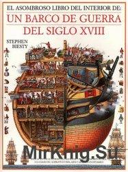 El Asombroso Libro Del Interior De: Un Barco De Guerra Del Siglo XVIII