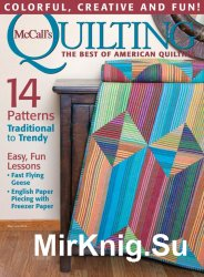 McCalls Quilting May-June 2016