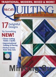 McCall's Quilting  March-April 2016