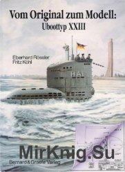 Vom Original zum Modell: Uboot typ XXIII