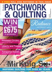 British Patchwork and Quilting, May 2016