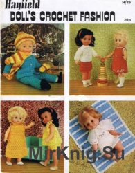 Hayfield h25 - Doll's crochet fashion
