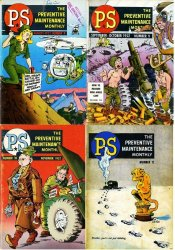 PS Magazine - The Preventive Maintenance Monthly №8-11 1952