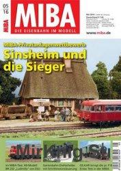 MIBA Die Eisenbahn im Modell 2016-05