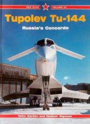 Tupolev Tu-144 Russia's Concorde (Red Star 24)