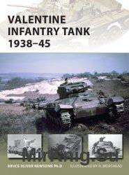 Valentine Infantry Tank 1938-1945 (Osprey New Vanguard 233)