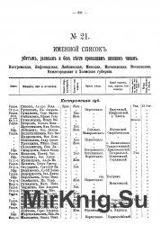 Именной список убитым, раненым и без вести пропавшим нижним чинам (1914-191 ...