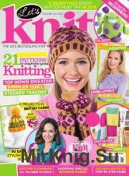 Let's Knit №1 January 2015