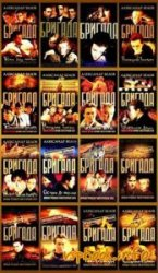 Серия книг - Бригада (16 книг)