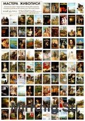 Серия книг «Мастера живописи» (15 книг)