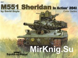 M551 Sheridan in Action (Squadron Signal 2041)