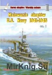Warships Colours 01 - Malowanie okretow US Navy 1941-1945