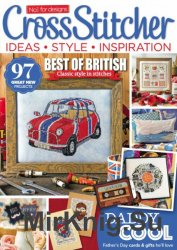 CrossStitcher №305 June 2016