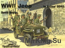WWII Jeep in Action (Squadron Signal 2042)