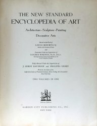 The New Standard Encyclopedia of Art: Architecture, Sculpture, Painting, De ...