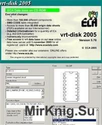 VRT-DISK-2005. База данных радиодеталей и компонентов