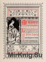 Muster altdeutscher Leinenstickerei I-IV