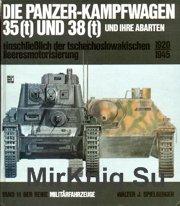 Die Panzerkampfwagen 35t u.38t und Ihre Abarten