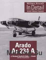 Arado Ar-234 A - Military Aircraft In Detail