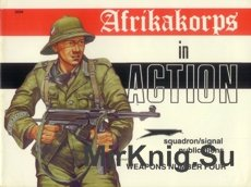 AfrikaKorps in Action - Squadron/Signal 3004