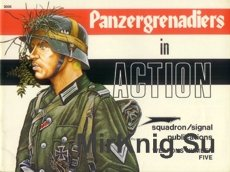 Panzergrenadiers in Action - Squadron/Signal 3005