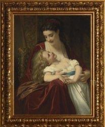 Буклет для вышивки №094 2014. «Материнская Любовь»