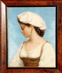 Буклет вышивки №112, 2014. «Итальянская Красавица»