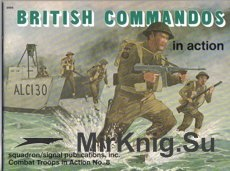 British Commandos in Action - Squadron/Signal 3008