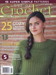 Love of Crochet - Winter 2014
