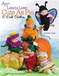 "Lots to Love Cute as Pie 5"" Doll Clothes"