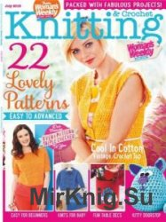 Womans Weekly Knitting & Crochet №7 July 2015