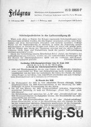 Feldgrau: Mitteilungen einer Arbeitsgemeinschaft 14.Jahrgang 1966 Heft 1-6