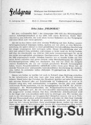 Feldgrau: Mitteilungen einer Arbeitsgemeinschaft 11.Jahrgang 1963 Heft 1,2, ...