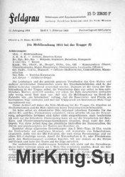 Feldgrau: Mitteilungen einer Arbeitsgemeinschaft 12.Jahrgang 1964 Heft 1-6